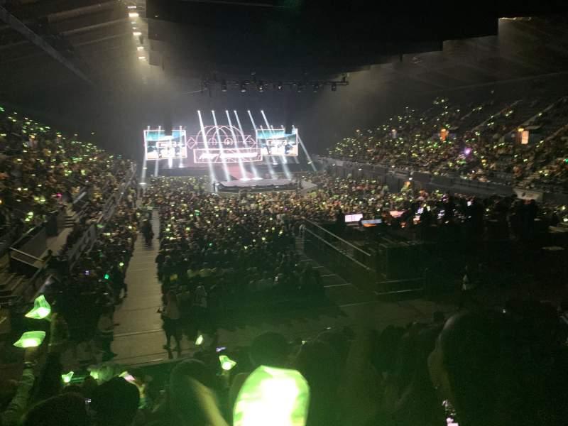 Vista sentada para SSE Arena, Wembley Secção E4 Fila M Lugar 80