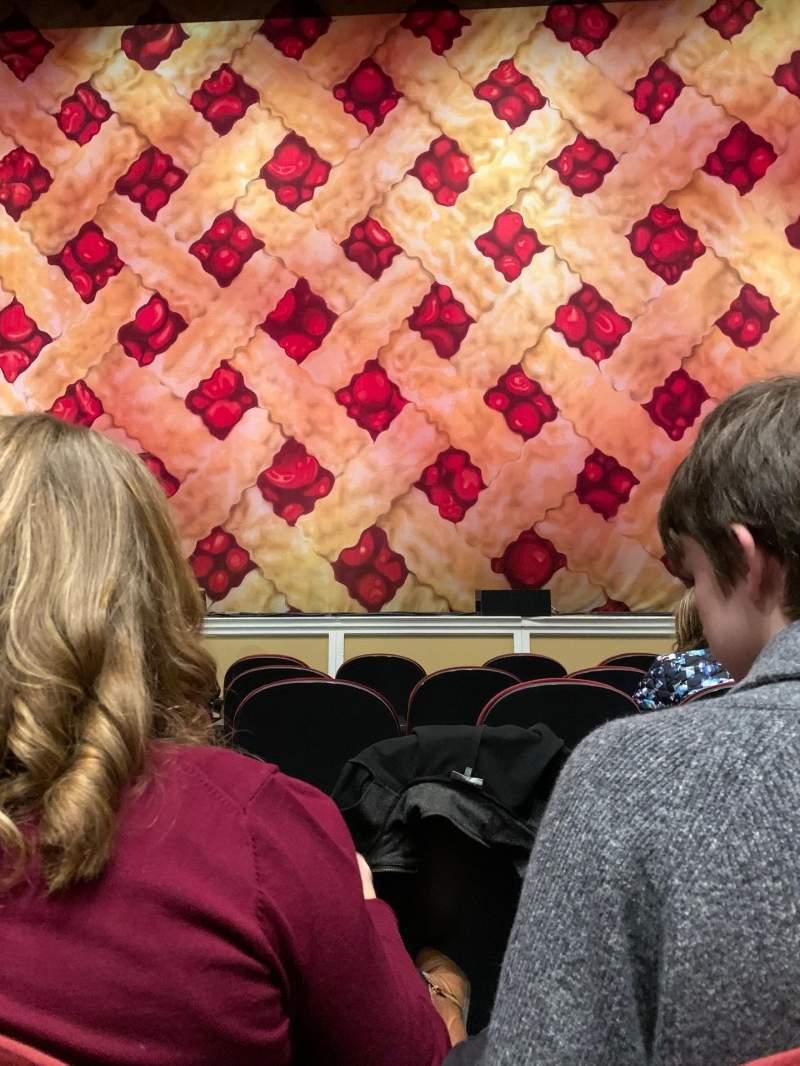 Vista sentada para Merrill Auditorium Secção Orchestra 2 Fila F Lugar 5