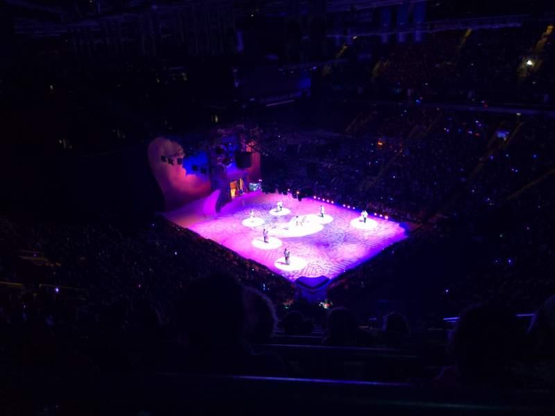 Vista sentada para Scotiabank Arena Secção 306 Fila 15 Lugar 2