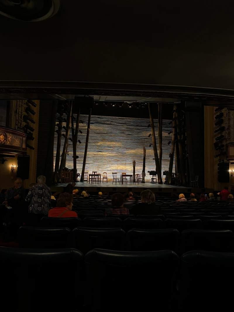Vista sentada para Comedy Theatre Secção Stalls Fila P Lugar 15