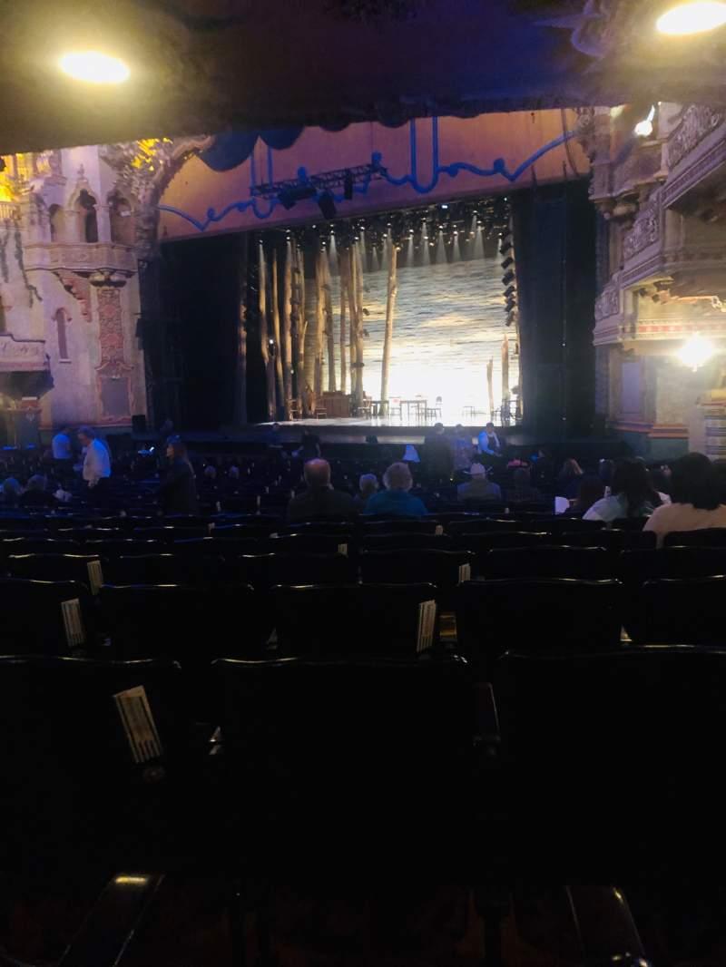 Vista sentada para Majestic Theatre - San Antonio Secção Orchestra R Fila Z Lugar 24
