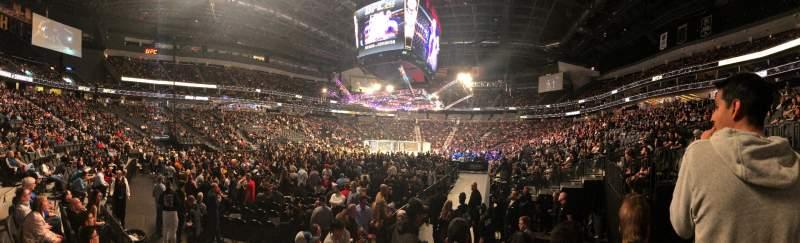 Vista sentada para T-Mobile Arena Secção 2 Fila E Lugar 13