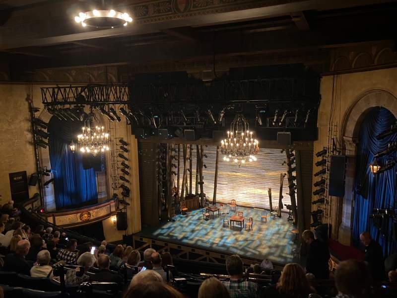Vista sentada para Comedy Theatre Secção Dress Circle Fila J Lugar 33