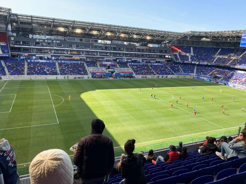 Vista sentada para Red Bull Arena (New Jersey) Secção 228 Fila 13 Lugar 35