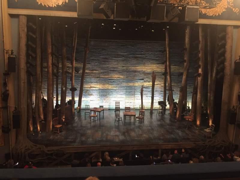 Vista sentada para Gerald Schoenfeld Theatre Secção Mezzanine c Fila C Lugar 103
