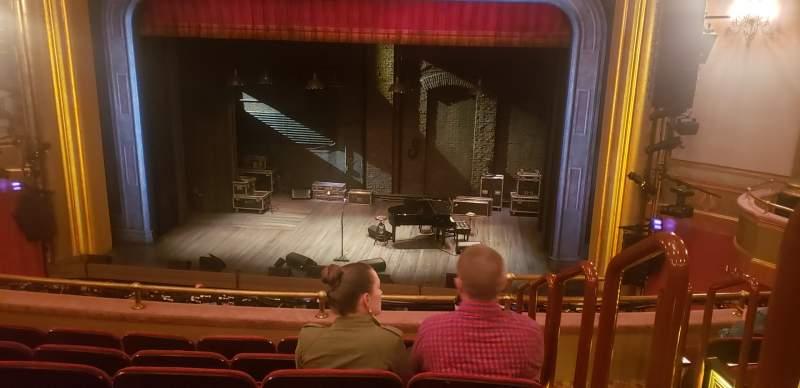 Vista sentada para St. James Theatre Secção Mezzanine C Fila F Lugar 101