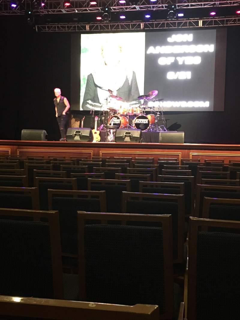 Vista sentada para Arcada Theatre Secção 102 Fila K Lugar 2