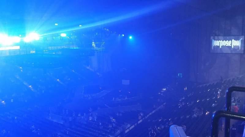 Vista sentada para Royal Farms Arena Secção 314 Fila C Lugar 12