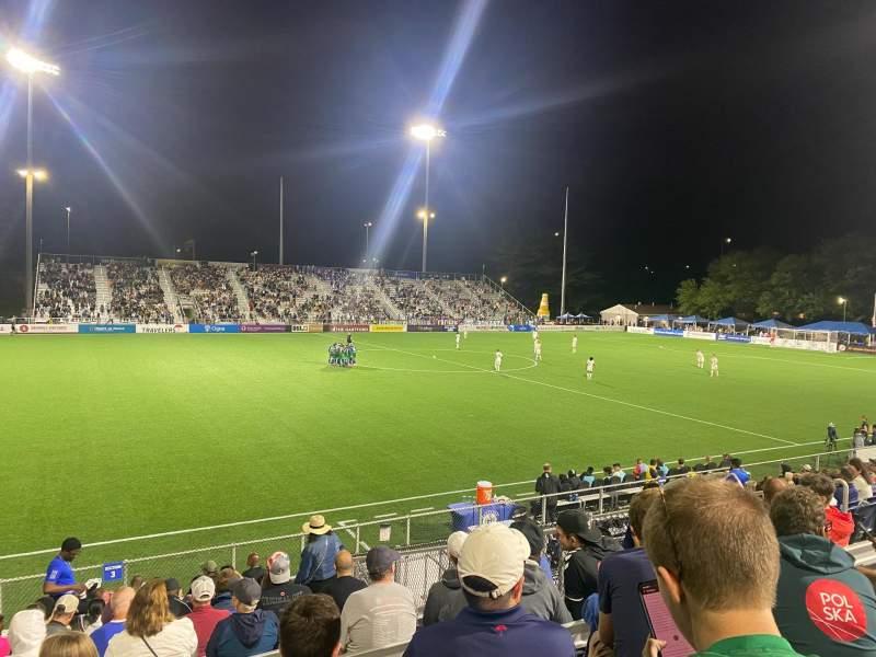 Vista sentada para Dillon Stadium Secção 3 Fila P Lugar 13