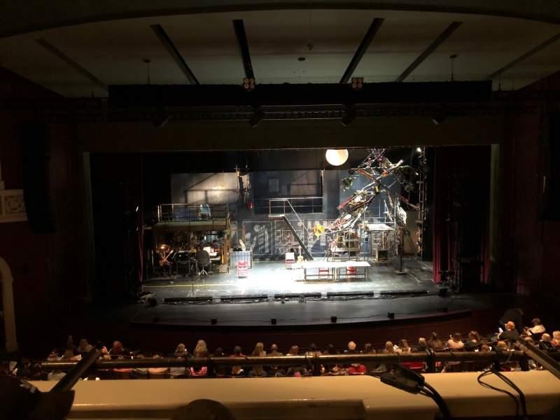 Vista sentada para Templeton-Blackburn Alumni Memorial Auditorium Secção BALCCQ Fila C Lugar 9