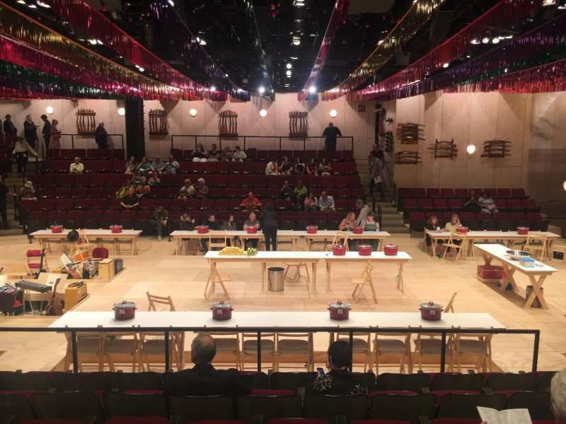 Vista sentada para Circle in the Square Theatre Secção Orchestra 200 (Even) Fila G Lugar 238