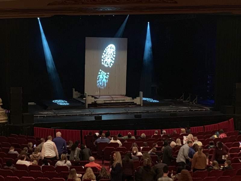 Vista sentada para Nederlander Theatre (Chicago) Secção Dress Circle L Fila A Lugar 245