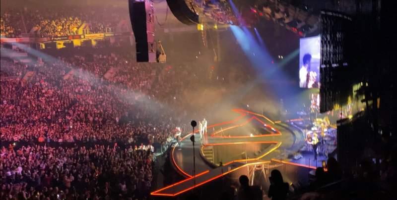 Vista sentada para PHX Arena Secção 123 Fila 24 Lugar 16