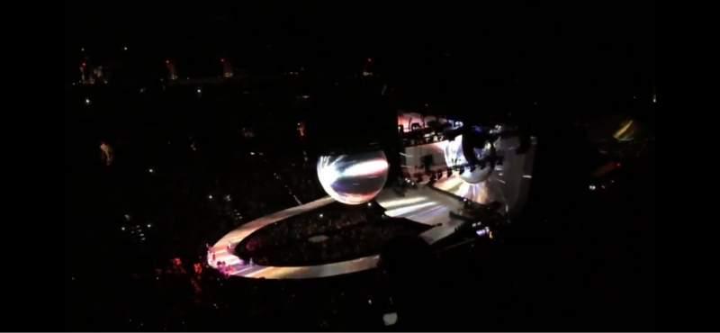 Vista sentada para PHX Arena Secção 205 Fila 14 Lugar 4