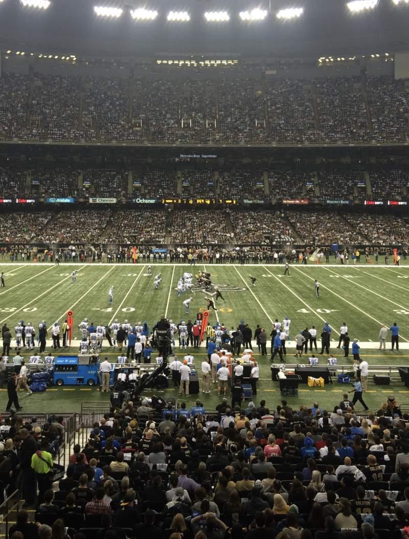 Mercedes Benz Superdome, Secção 223, Fila A, Lugar 4   New Orleans Saints  Vs Detroit Lions, Partilhado Por Babsgig