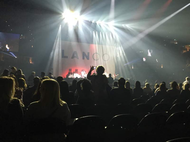 Vista sentada para Honda Center Secção 103 Fila 8 Lugar 11
