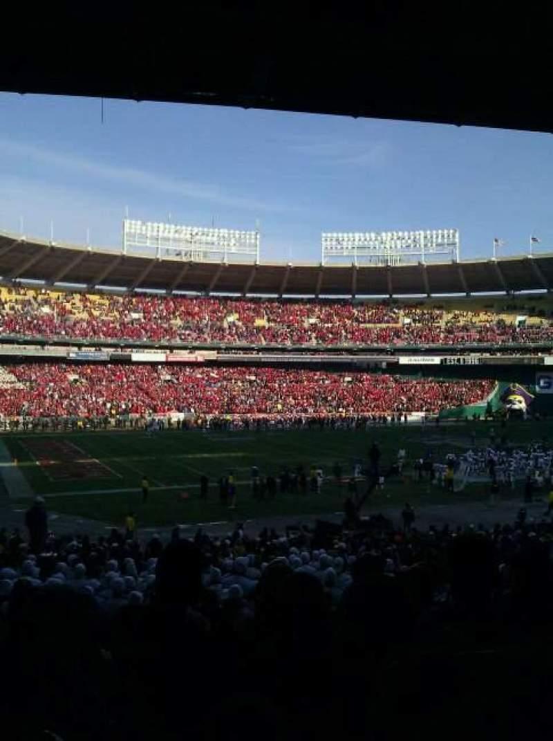 Vista sentada para Rfk Stadium Secção 113 Fila aa Lugar 13