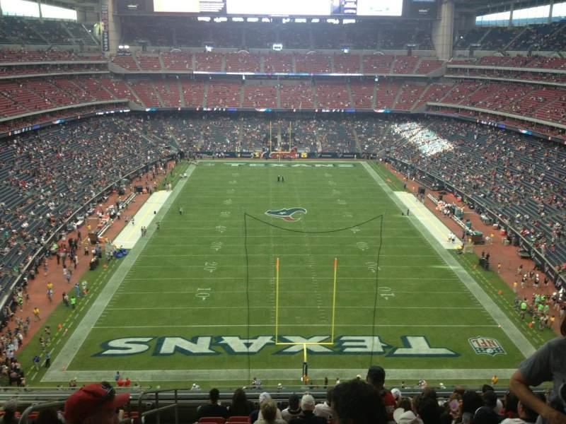 Vista sentada para NRG Stadium Secção 547 Fila M Lugar 20