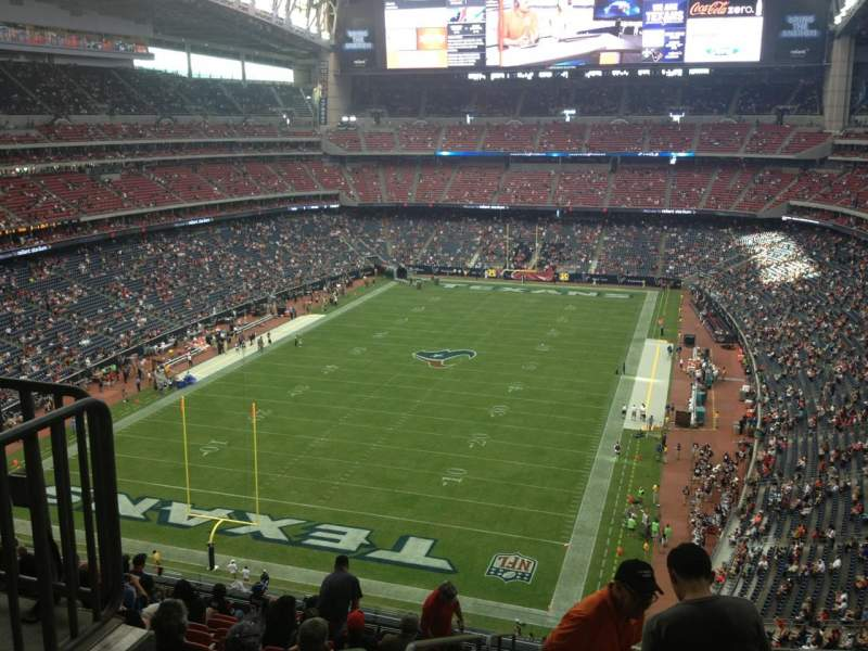 Vista sentada para NRG Stadium Secção 544 Fila M Lugar 22