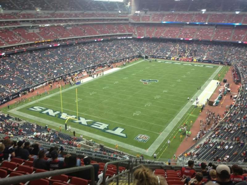 Vista sentada para NRG Stadium Secção 543 Fila M Lugar 17