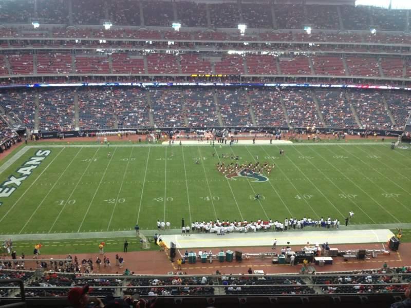 Vista sentada para NRG Stadium Secção 535 Fila M Lugar 19