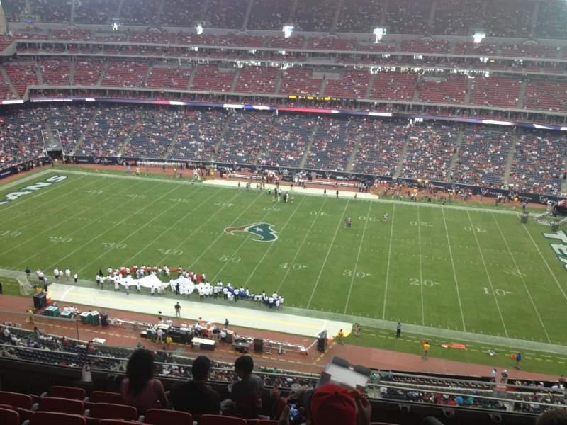 Vista sentada para NRG Stadium Secção 532 Fila M Lugar 21