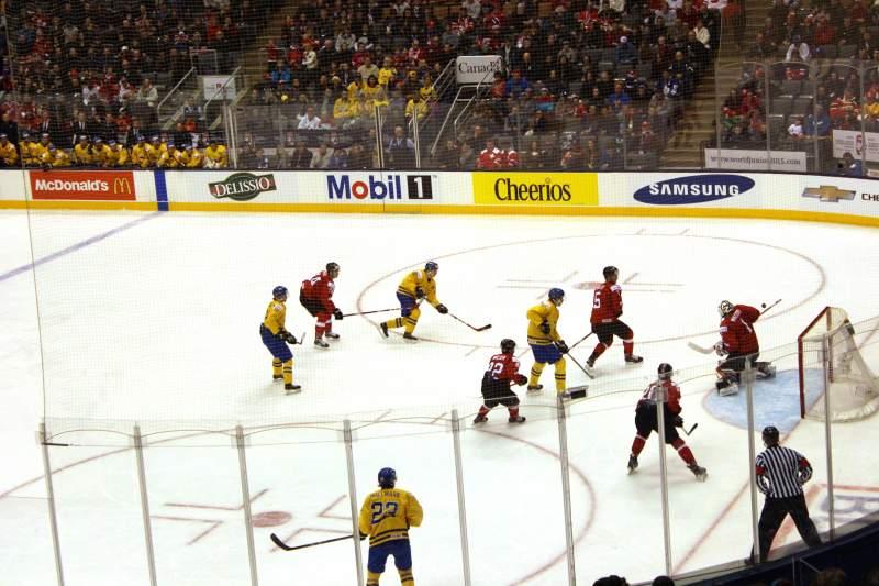 Vista sentada para Scotiabank Arena Secção 105 Fila 26 Lugar 23