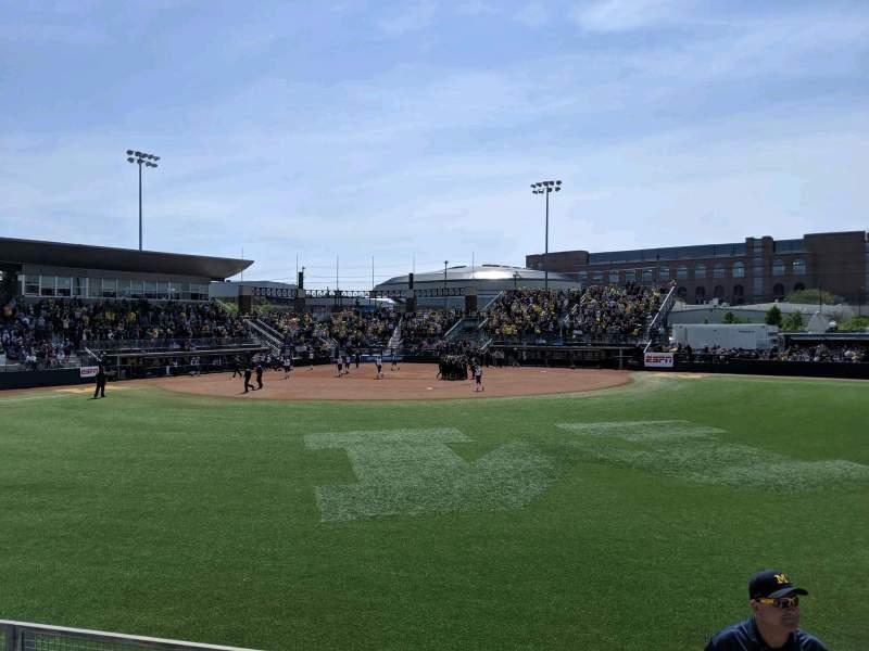 Vista sentada para Alumni Field at The Wilpon Complex Secção Bleacher