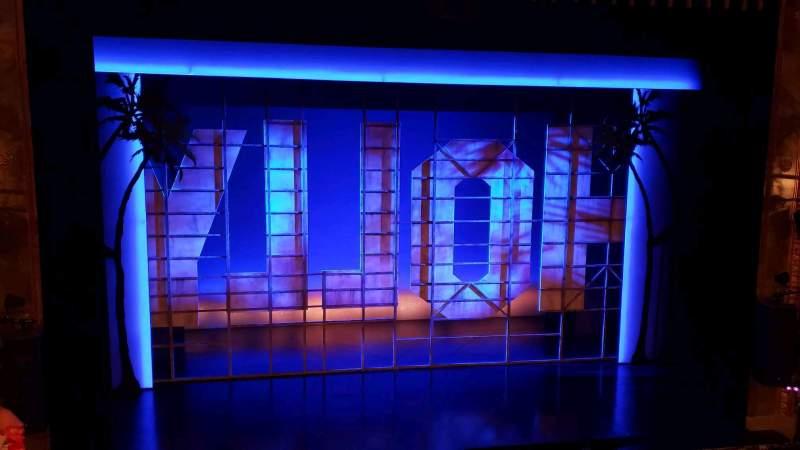 Vista sentada para Nederlander Theatre Secção Mezzanine C Fila D Lugar 113