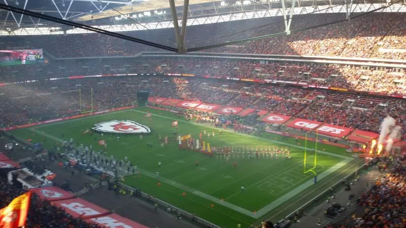 Vista sentada para Wembley Stadium Secção A