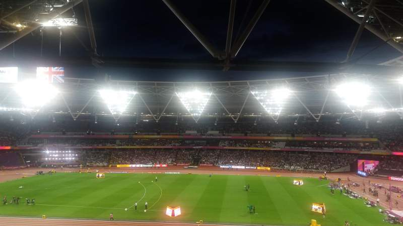 Vista sentada para London Stadium