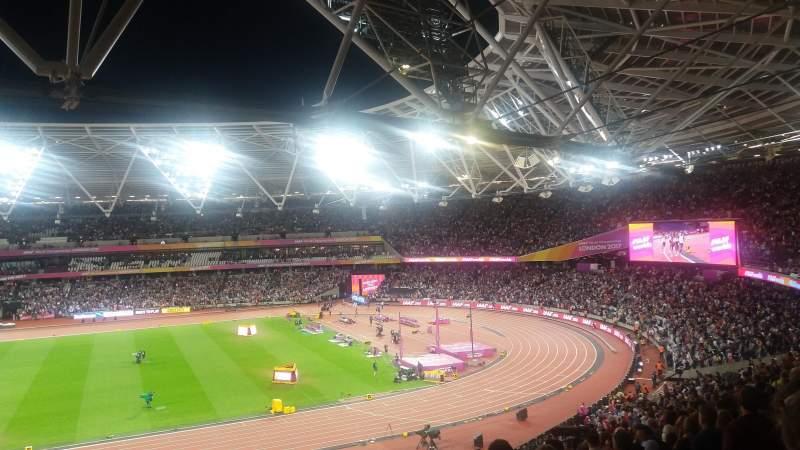 Vista sentada para London Stadium