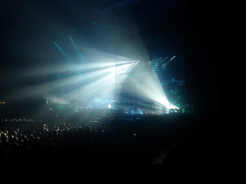 Vista sentada para Arena Birmingham Secção H Fila F Lugar 93