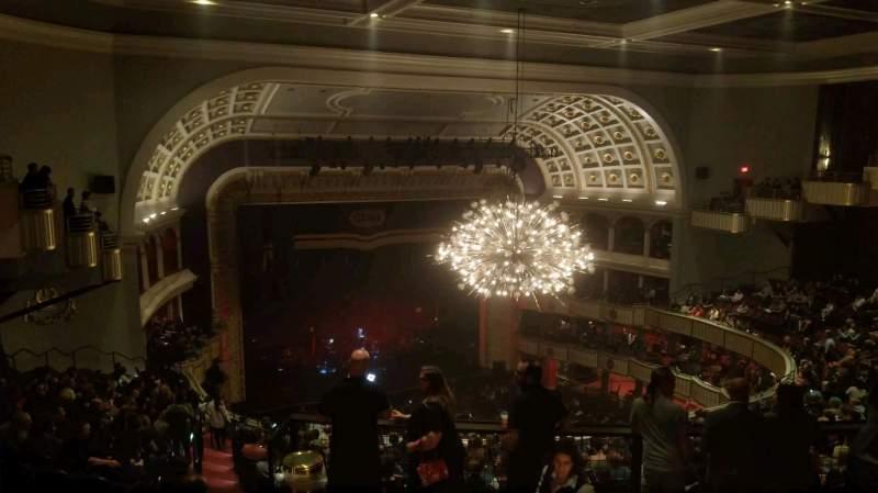 Vista sentada para The Met Philadelphia Secção mezzanine 5 Fila B Lugar 1