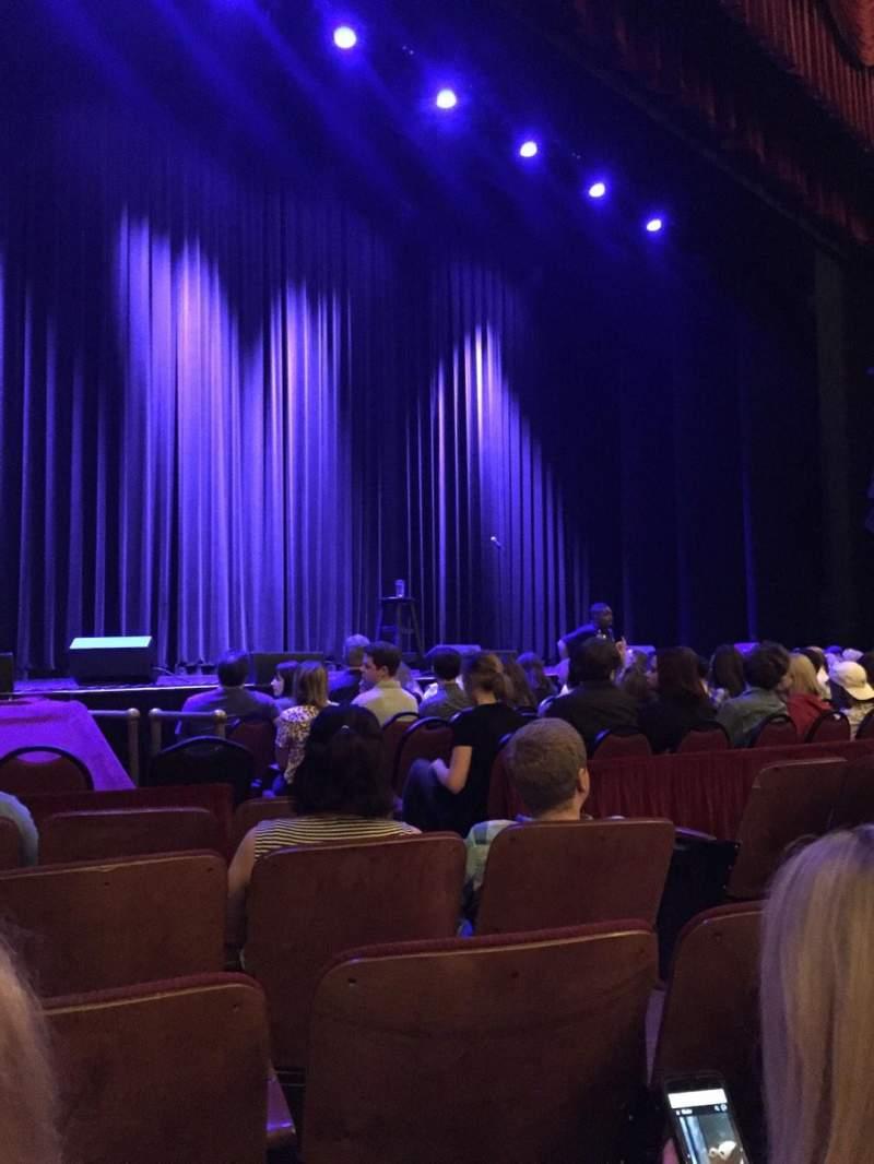 Vista sentada para Chicago Theatre Secção MNFL3L Fila EE Lugar 309