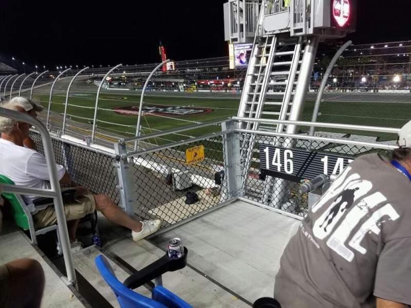 Vista sentada para Daytona International Speedway Secção 147 Fila 3 Lugar 22