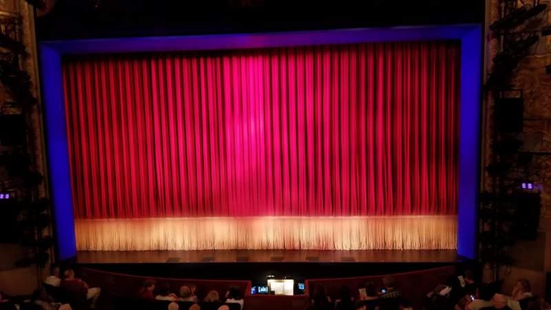 Vista sentada para Longacre Theatre Secção Mezzanine C Fila A Lugar 105