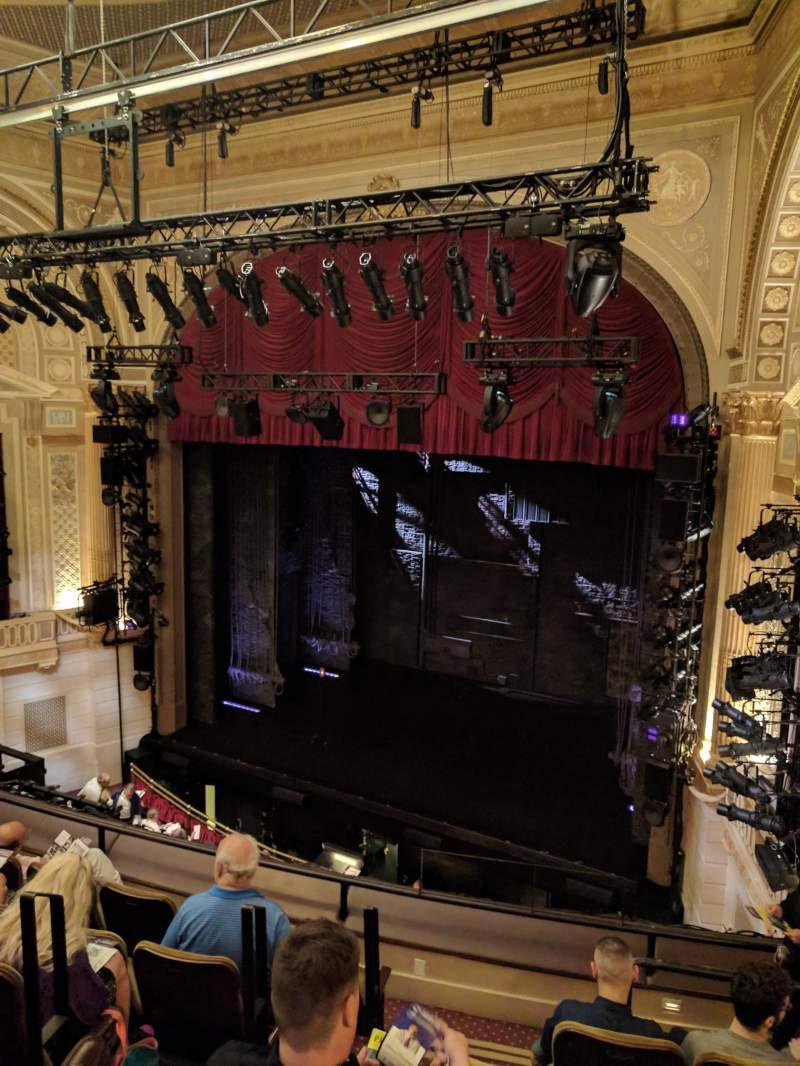Vista sentada para Samuel J. Friedman Theatre Secção MEZZ Fila D Lugar 6