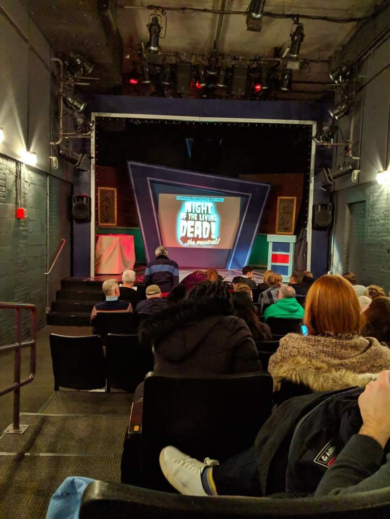 Vista sentada para Kirk Theatre Secção ORCH Fila K Lugar 7
