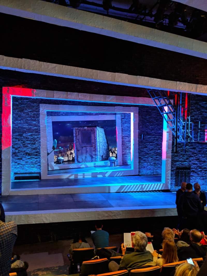 Vista sentada para Tony Kiser Theatre Secção ORCH Fila G Lugar 2