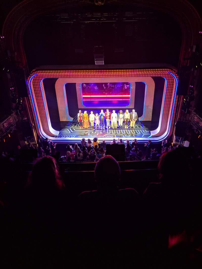 Vista sentada para Lyceum Theatre (Broadway) Secção Balcony C Fila C Lugar 104