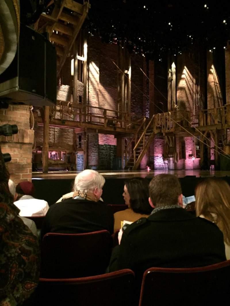 Vista sentada para Richard Rodgers Theatre Secção Orchestra L Fila E Lugar 17