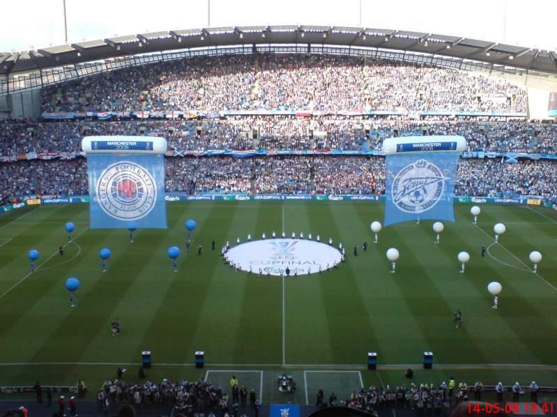 Vista sentada para Etihad Stadium (Manchester) Secção 3rd tier