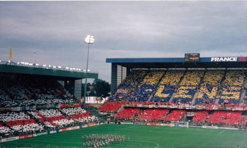 Vista sentada para Stade Bollaert-Delelis