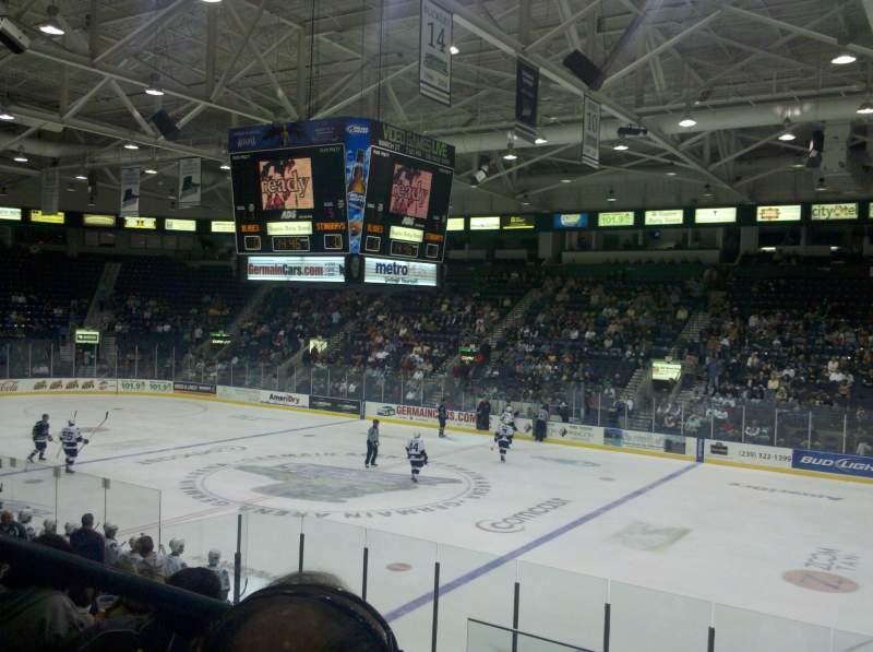 Vista sentada para Hertz Arena Secção 119