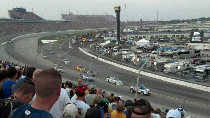 Vista sentada para Kentucky Speedway Secção Gs1B Fila 13 Lugar 25