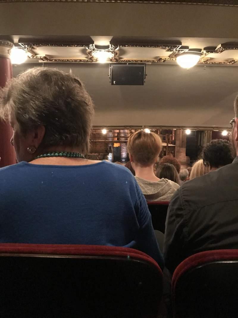 Vista sentada para CIBC Theatre Secção Dress Circle C Fila G Lugar 202