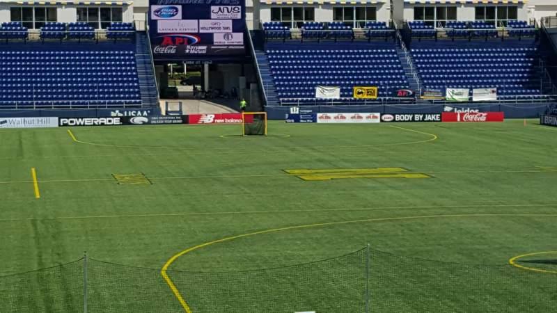Vista sentada para Navy-Marine Corps Memorial Stadium Secção C Fila 5 Lugar 35