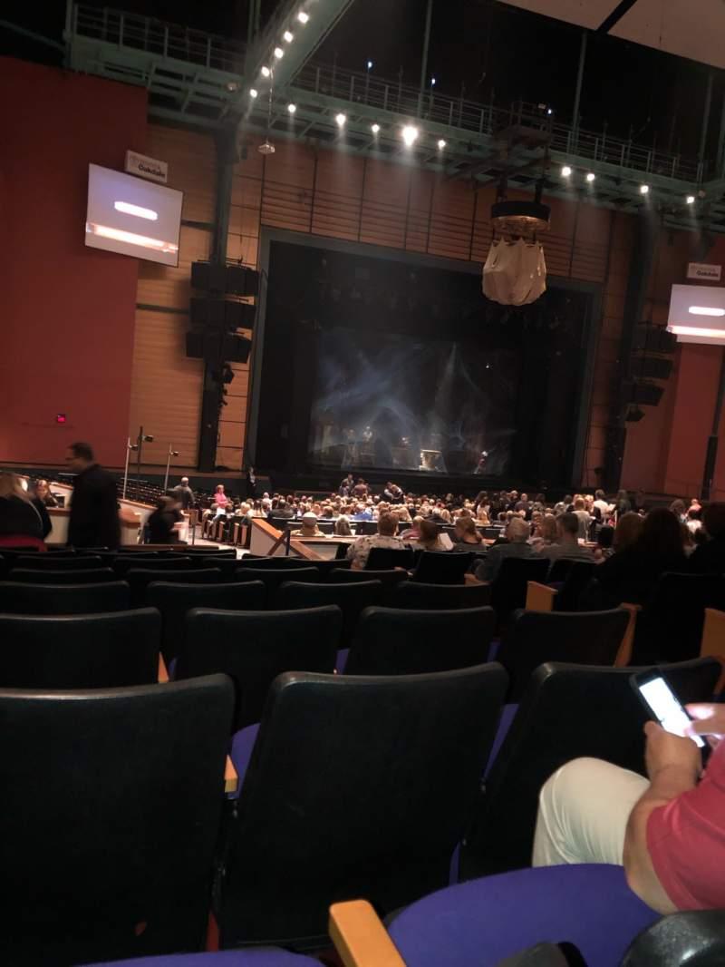 Vista sentada para Toyota Oakdale Theatre Secção 207 Fila NN Lugar 7