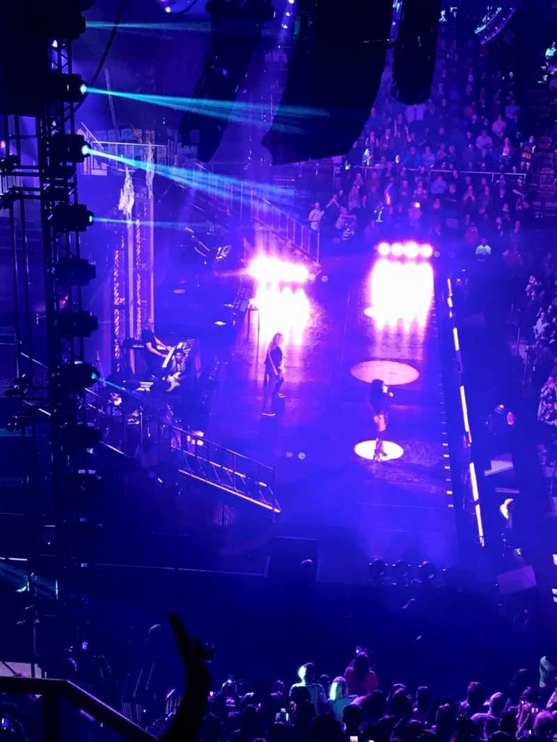 Vista sentada para Mississippi Coast Coliseum Secção JJ Fila 5 Lugar 17